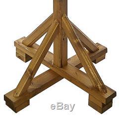 Table D'oiseau Sauvage En Bois Robuste De Wharfedale Par Tom Chambers Table À Toit En Ardoise