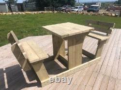 Table De Barre Lourde 1.2m/4ft Et 1.05m Hauteur Aucun Auto-assemblage Exigé