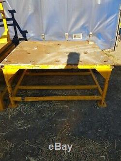 Table De Fabrication De Soudure En Acier 5 Pieds X4foot Lourds 20 MM Haut Indestr