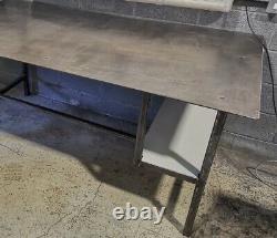 Table De Fabrication De Soudure Lourde