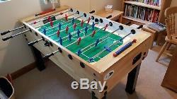 Table De Football Professionnelle Lourde Garlando G500, Bon État, Hêtre