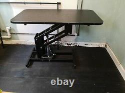 Table De Grooming Hydraulique Avec Barre H