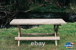 Table De Jardin En Bois, Extérieur, Table De Jardin, Poids Lourd, Chaise, Ensemble D'été, Tables