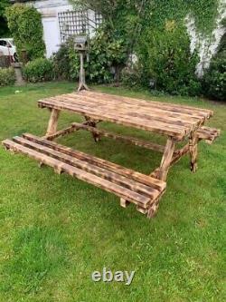 Table De Pique-nique En Bois Lourd