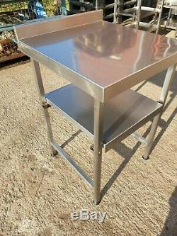 Table De Préparation De Restauration En Acier Inoxydable Robuste 600 X 640 MM