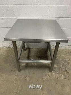 Table De Préparation En Acier Inoxydable Solide Robuste 800 MM De Large £110 + Tva