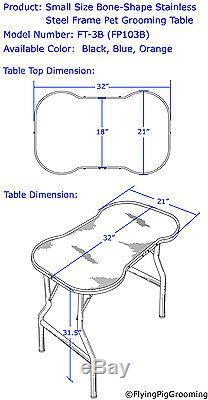 Table De Toilettage Pour Chien De Grande Taille Robuste Avec S / S 44, Par Flying Pig
