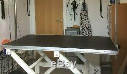 Table De Toilettage Pour Chien Électrique En Bon État, Grande Taille Réglable