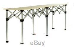 Table De Trader Du Marché Bulhawk Pour Compriment Pop Up Stall Counter 3m X 3m