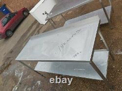 Table De Travail En Acier Inoxydable Pour Cuisine Lourde Commerciale 182x65x90 CM