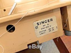 Table De Travail Semi-industrielle Semi-résistante O Matic De Chanteur 401g Oblique