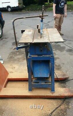 Table Électrique Scie 3 Phase Qualité Lourde