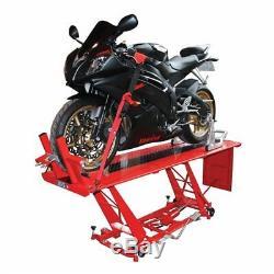 Table Élévatrice Hydraulique Pdslift03 De Garage D'atelier De Moto Biketek