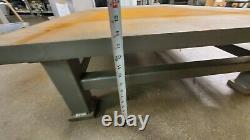 Table Industrielle En Acier / Cadre Recouvert D'acier-it / Table De Soudage Lourd