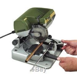 Table Mitre Scie Électrique Corded Cutter Portable Durable Boîtier Lame Heavy Duty