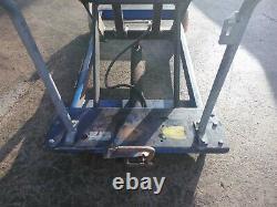 Table Mobile De Plate-forme Hydraulique De Plate-forme De Levage De Banc De Travail 1250 Kgs