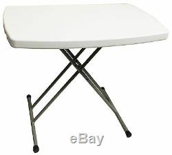 Table Pliable De Camping Plastique Pliable Réglable Bureau Caravane Bbq Ordinateur Portable Plateau
