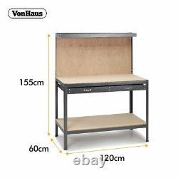 Table Robuste De Tiroir De Rangement En Acier De Garage En Métal De Diy