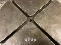 Table Rotative De 16 / 400 Mm, Horizontale, Tour À 360 Degrés, 4 Fentes