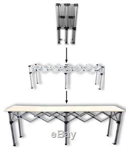 Tente 3m De Mètre De MCD Pro Sautent La Table De Belvédère En Aluminium Résistante De Compteur De Commerce
