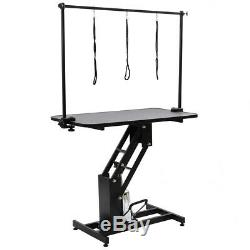 Toilettage Pour Animaux Dog Bath Table Station Heavy Duty Hydraulique Professionnelle H Bar Arms