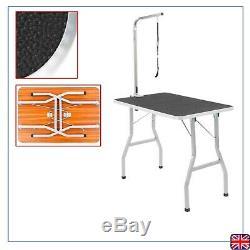 Toilettage Pour Chien Portable Table Bain De Beauté Douche Réglable Pliante Anti-dérapant