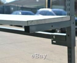 Treston Heavy Duty Travail Réglable En Hauteur Banc / Table 1,8m X 0,8m