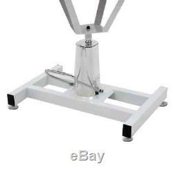 Vidaxl Hydrauliques Bain Toilettage Chiens De Table Animaux Réglable Alimentation Swivel Nouveau 60kg