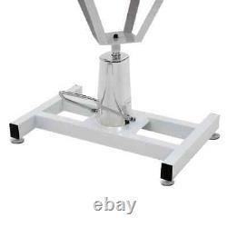Vidaxl Table De Salle De Bain Hydraulique Pour Chiens Animaux De Compagnie Approvisionnement Pivotant Réglable