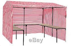 Walk-in Avec Tables De 3 MX 3 M (10 Pi X 10 Pi) - Pack De Démarrage Pour Stand Extérieur Pour Stand Extérieur