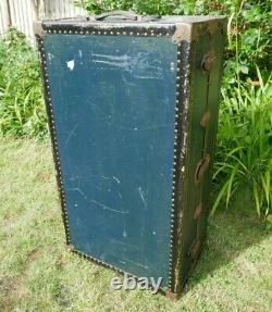 Watajoy Vintage Vapeur Coffre Armoire Coffre Steamline Bagages Table Basse