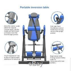 Yoleo Gravity Heavy Duty Table Avec Inversion Réglable Et Appuie-tête